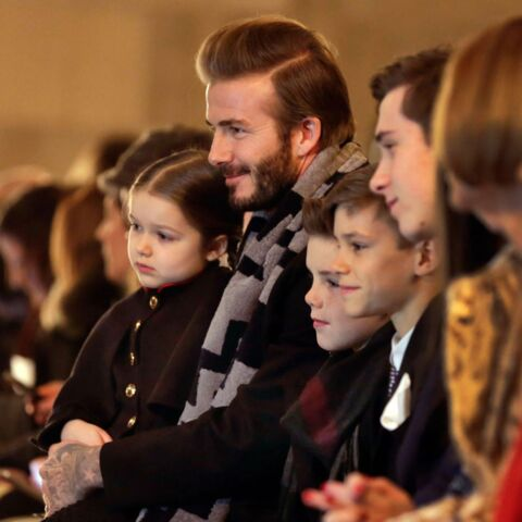 David, Harper, Cruz, Romeo, Brooklyn: le clan Beckham fait son show
