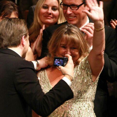 Baftas: Leonardo DiCaprio si tendre avec sa mère