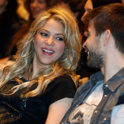 Photos- Shakira et Gérard Piqué, heureux futurs parents