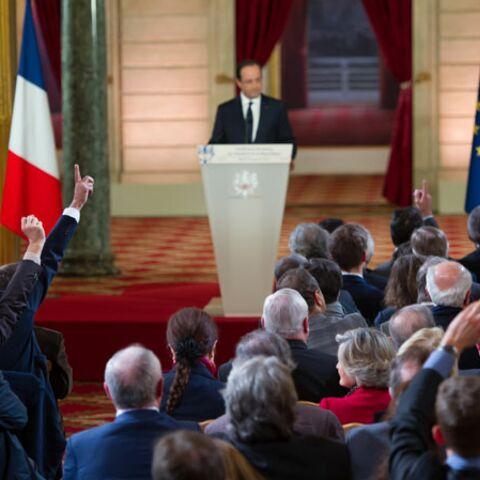 La presse anglo-saxonne ironise sur la conférence de presse de François Hollande