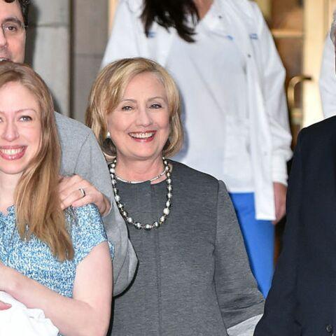 Bill Clinton, un grand-père heureux
