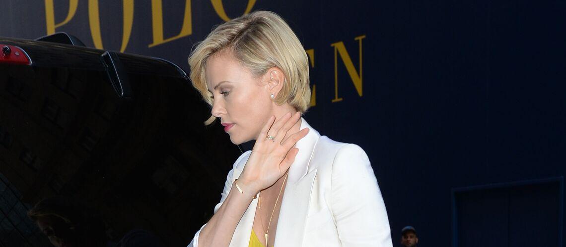 Angelina Jolie, Charlize Theron, Sharon Stone… Élégantes en blanc
