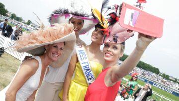 Sophie Thalmann, Sylvie Tellier, Flora Coquerel, Camille Cerf glamour au Prix de Diane Longines