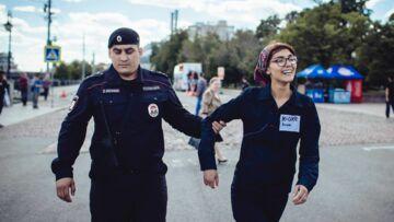 Pussy Riot: bouche cousue par la police