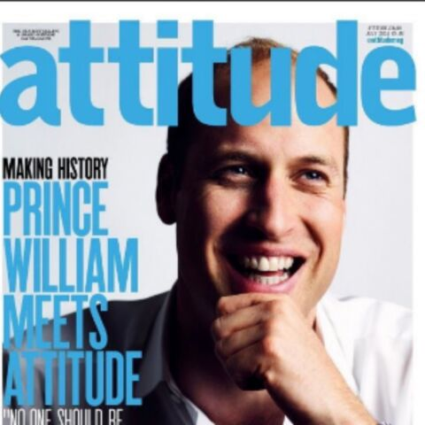Le prince William en une d'un magazine gay outre-Manche
