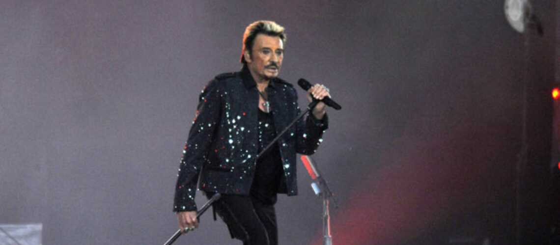 Johnny Hallyday a toujours le feu