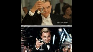 Leonardo DiCaprio prend de la bouteille…