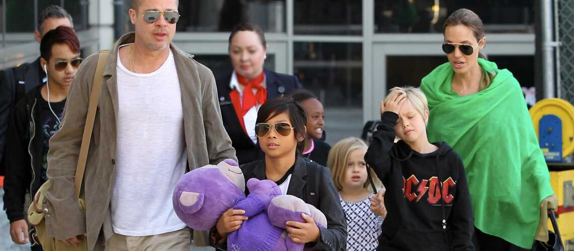 Les enfants d'Angelina Jolie organiseront son mariage