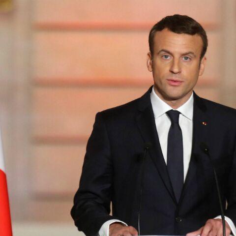 Emmanuel Macron entouré de ses «petits enfants qui courent partout»: il y a de l'ambiance à l'Elysée