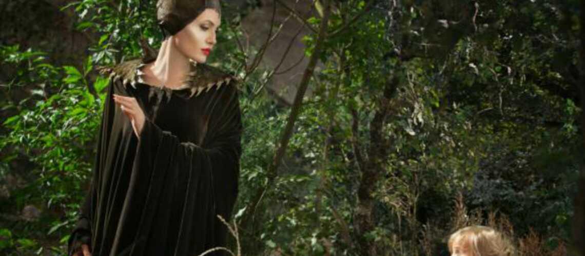 Photos – Vivienne Jolie-Pitt défie maman Angelina dans Maléfique