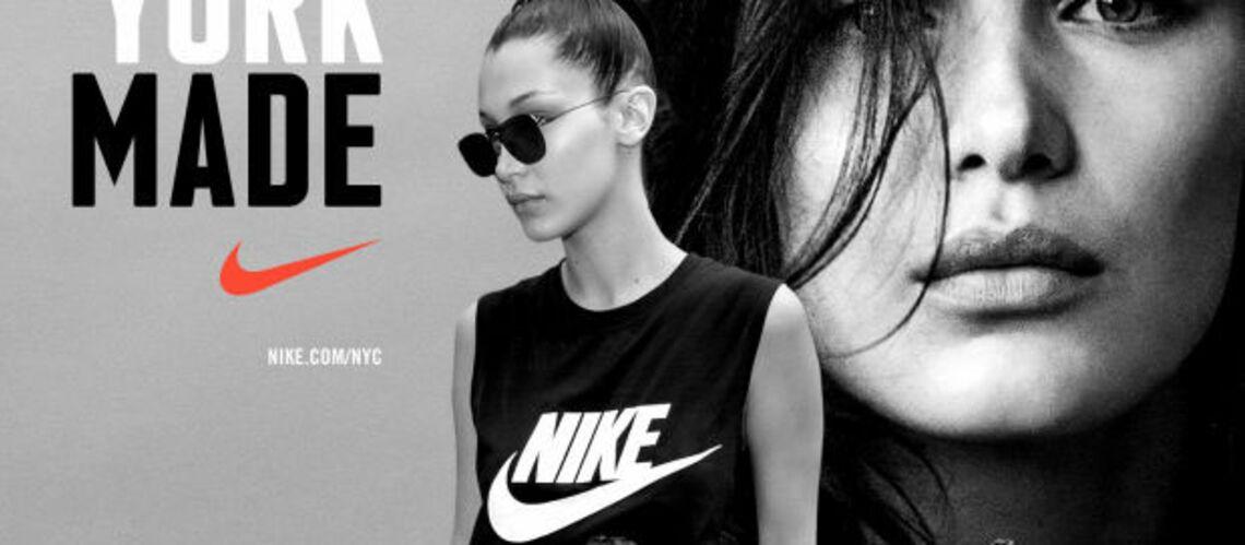 Bella Hadid, égérie de la campagne Nike «New York Made»