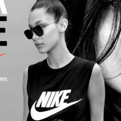 Bella Hadid, égérie de la campagne Nike « New York Made »