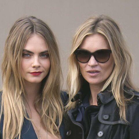 Kate Moss et Cara Delevingne, égéries Burberry et complices