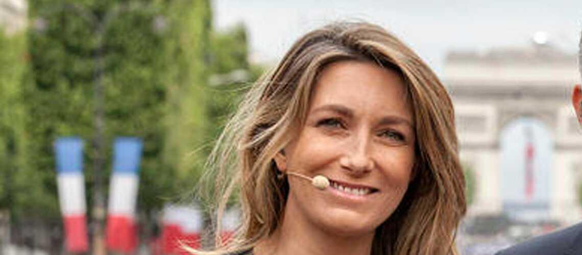 Anne-Claire Coudray lâche les cheveux au 20 heures