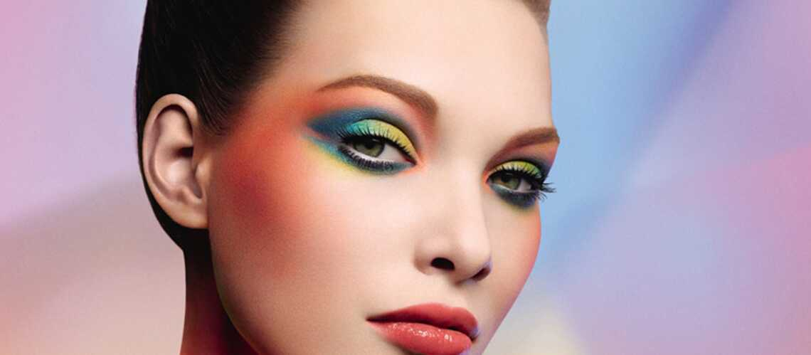 Make-up arty avec le halo « Artist color »