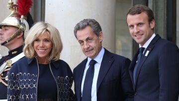PHOTO – Emmanuel et Brigitte Macron, Nicolas Sarkozy et François Hollande tous réunis pour fêter les JO