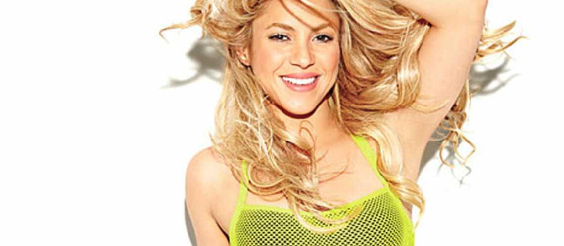 Shakira, des abdos en béton