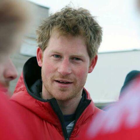 Le Prince Harry au pôle Sud