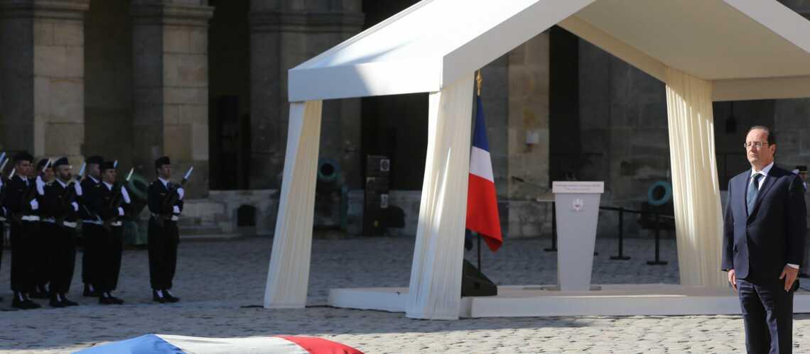 François Hollande rend hommage à Dominique Baudis