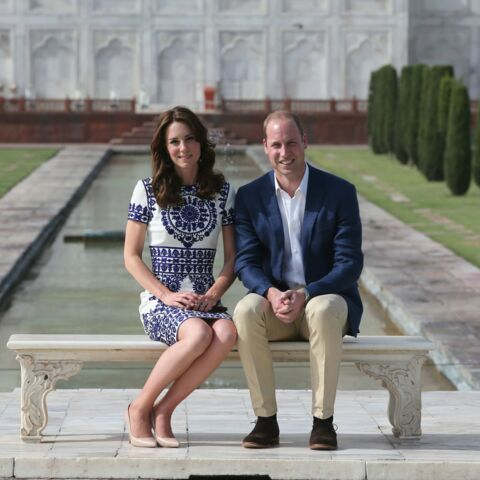 Kate & William au Taj Mahal dans les pas de Lady Diana & Charles