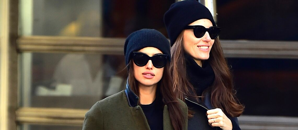 PHOTOS – Irina Shayk, Justin Bieber: le bonnet, nouvelle arme anti-paparazzi?
