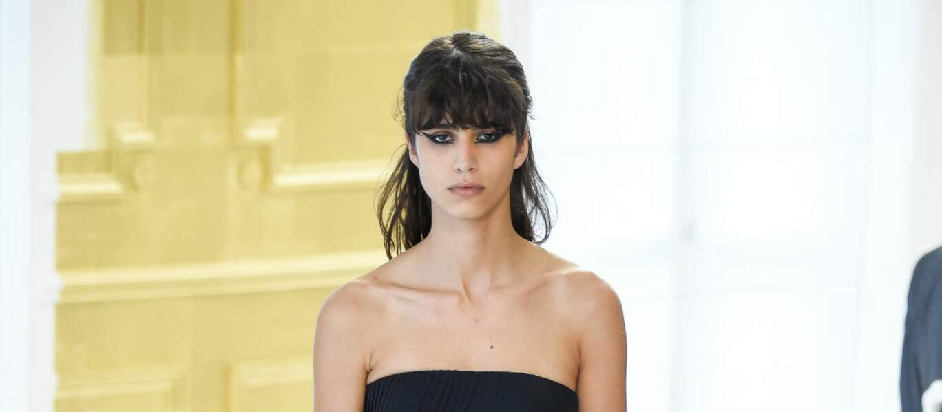 Sexy la petite frange Dior