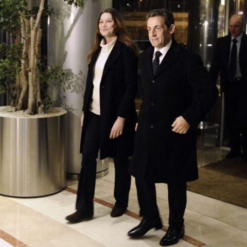 Carla Bruni-Sarkozy débute son chemin de croix