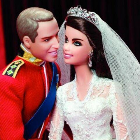 Kate et William, jolies poupées