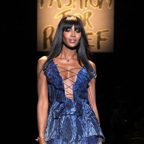 Naomi Campbell, la mode lutte contre Ebola
