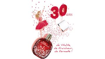 L'Eau Dynamisante de Clarins fête ses 30 ans