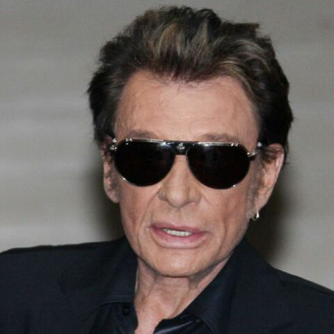 Johnny Hallyday « en bad boy chic »