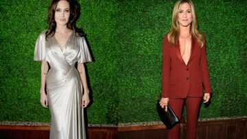 Jennifer Aniston et Angelina Jolie, chassés-croisés sur tapis rouge