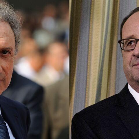 Michel Drucker «scié» par la venue de François Hollande à son one-man show