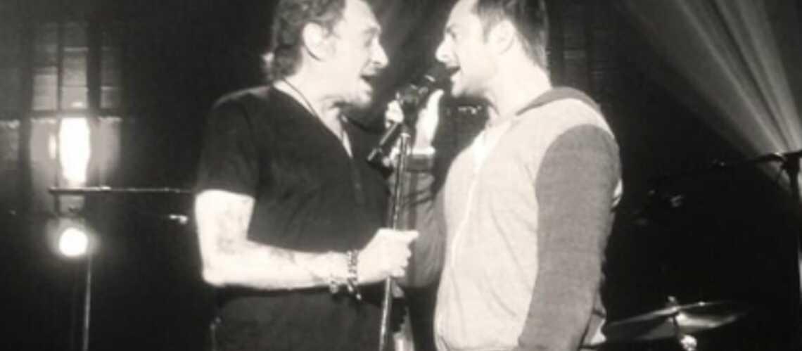 David et Johnny Hallyday: les retrouvailles