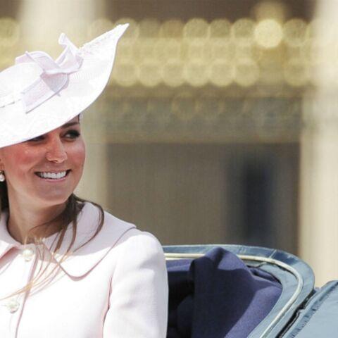 Photos – Kate Middleton à la parade d'anniversaire de la reine Elisabeth