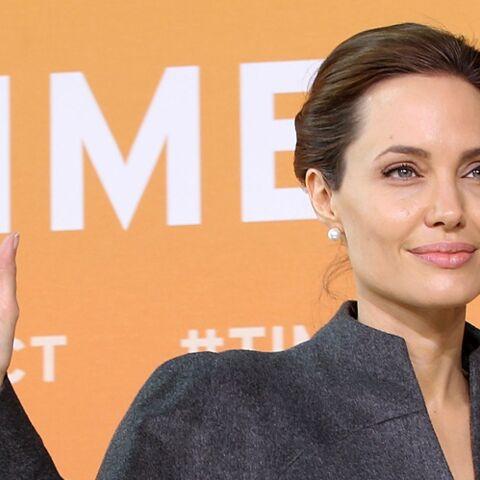 Angelina Jolie honorée par la reine Elisabeth II