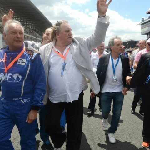 Venue mouvementée pour Gérard Depardieu aux 24 Heures du Mans