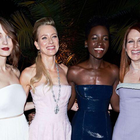 Rooney Mara, Lupita Nyong'o, Julianne Moore éblouissantes pour Calvin Klein