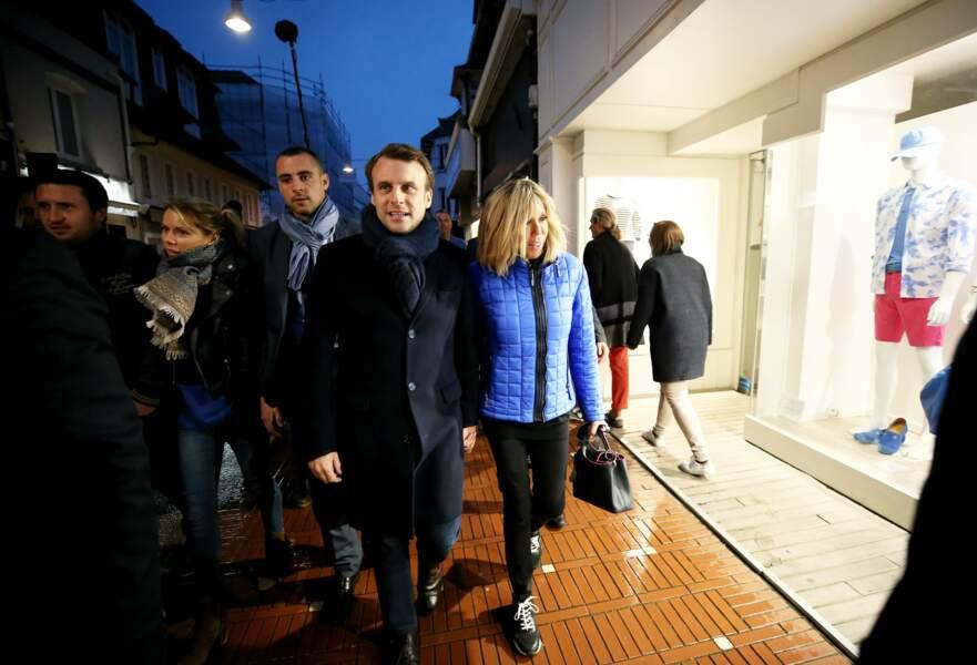 Le couple Macron va fêter l'anniversaire de sa petite fille