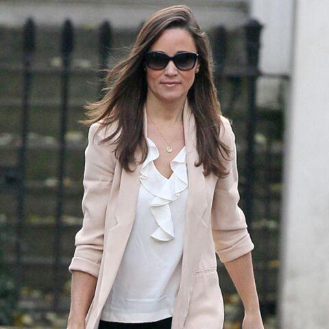Dans le dressing de Pippa Middleton