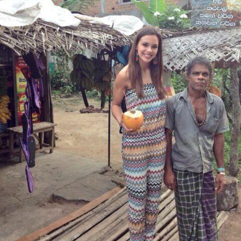 Photos – Marine Lorphelin et les 33 miss régionales au Sri Lanka