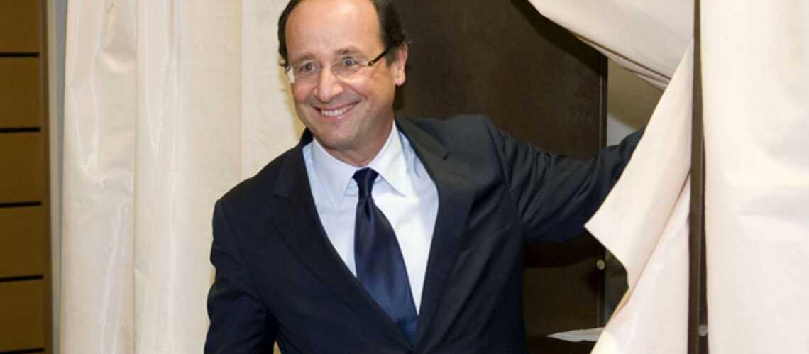 François Hollande bat nettement Martine Aubry