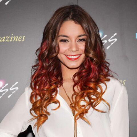 Photos – La chevelure de Vanessa Hudgens aux couleurs de l'automne
