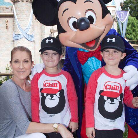 Céline Dion, maman bonheur