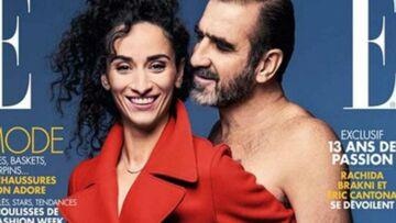 Eric Cantona, nu comme un ver pour Elle