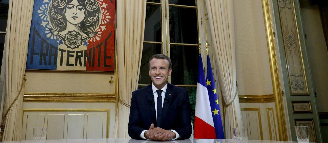 Emmanuel Macron sur TF1: quels sont les tableaux dans son bureau?