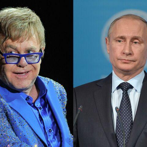 Vladimir Poutine a exaucé Elton John