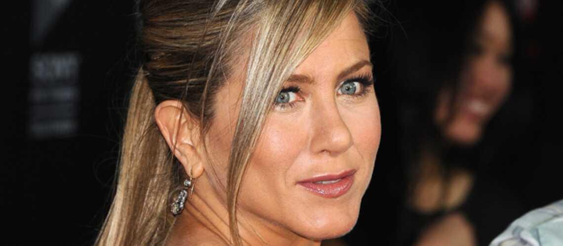 Jennifer Aniston: son truc, c'est la ventouse