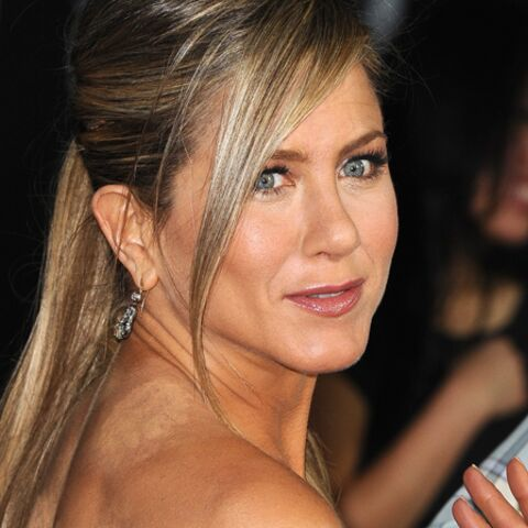 Jennifer Aniston: son truc, c'est la ventouse
