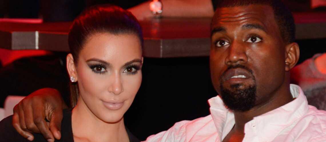Kim Kardashian et Kanye West, les noces d'or